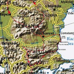 Wyprawa motocyklowa do Grecji - 2008 - mapa trasy