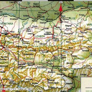 Wyprawa motocyklowa do Grecji - 2008 - mapa trasy przez Bułgarię-powrót
