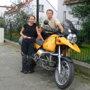 Wyprawa motocyklowa do Grecji - 2008 - start