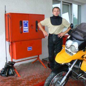 Wyprawa motocyklowa do Grecji - 2008 - ucieczka przed powidzią na Ukrainie