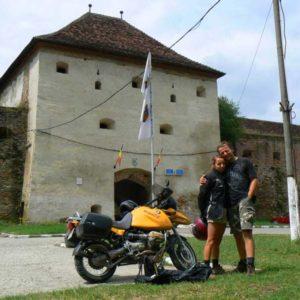 Wyprawa motocyklowa do Grecji - 2008 - Rumunia, Forteca Fogarasz/Făgăraș/Fogaras/Fugreschmarkt