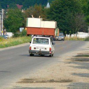 Wyprawa motocyklowa do Grecji - 2008 - Rumunia, rumuńskie pojazdy