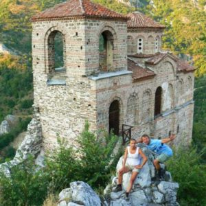 Wyprawa motocyklowa do Grecji - 2008 - Bułgaria, cerkiew w Asenowgrad/Asenovgrad/Асеновград