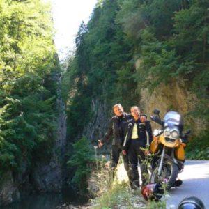 Wyprawa motocyklowa do Grecji - 2008 - Bułgaria, droga do jaskinii Jagodina