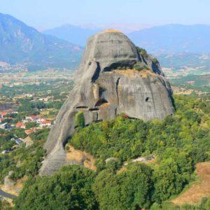 Wyprawa motocyklowa do Grecji - 2008 - Grecja, prawosławny klasztor w Meteorach/Μετέωρα/Meteora - dawny klasztor