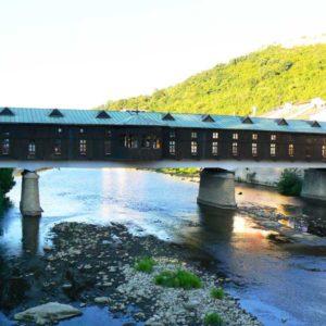 Wyprawa motocyklowa do Grecji - 2008 - Bułgaria - kryty most w Łowecz/Lovech