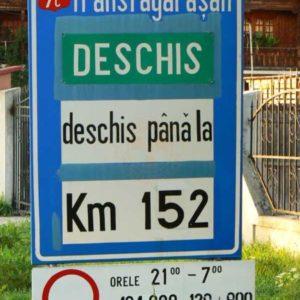 Wyprawa motocyklowa do Grecji - 2008 - Rumunia, Trasa Transfogaraska/Transfogarska - tablica informacyjna