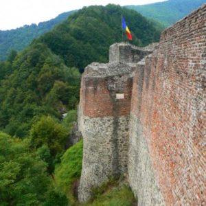 Wyprawa motocyklowa do Grecji - 2008 - Rumunia, Trasa Transfogaraska/Transfogarska - prawdziwy zamek Draculi