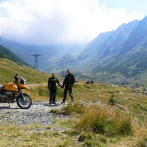 Wyprawa motocyklowa do Grecji - 2008 - Rumunia, Trasa Transfogaraska/Transfogarska