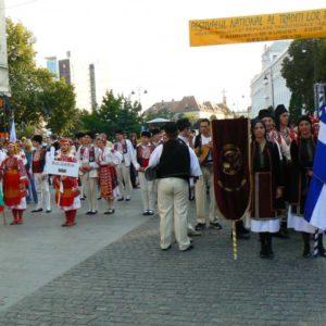 Wyprawa motocyklowa do Grecji - 2008 - Rumunia, festiwal w Sibiu/Sybin