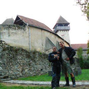 Wyprawa do Grecji - 2008 - Rumunia, zamek Calnic