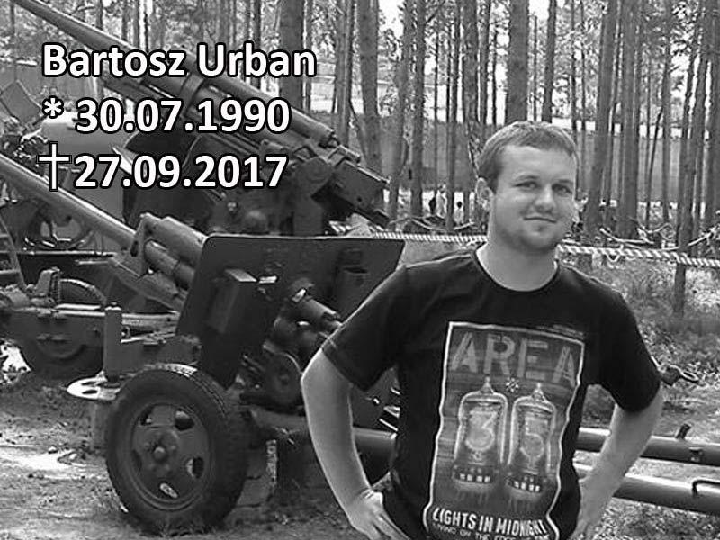Bartosz Urban – pamiętamy !
