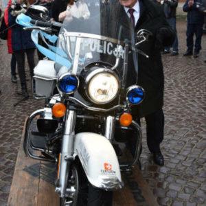Pierwszy w kraju Harley zakupiony na potrzeby Policji