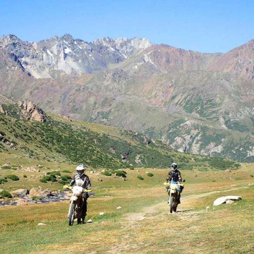 VIII Nasze Wyprawy Motocyklowe - Tylko dla Orlic. Kirgistan.