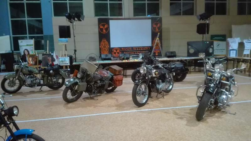 Motocykliści dla Mirka - czas start