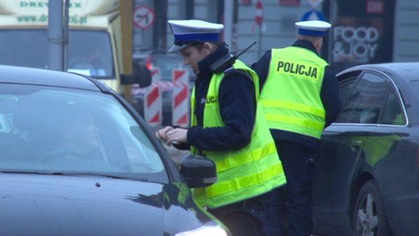 kontrola pojazdów przez policję