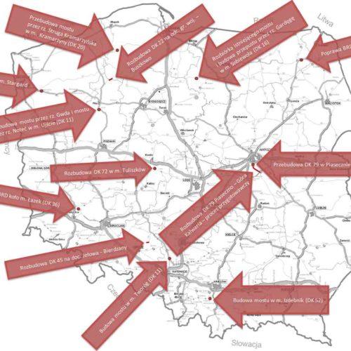 190 mln zł na poprawę stanu dróg krajowych