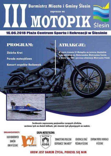 III MOTOPIK ŚLESIN 2018