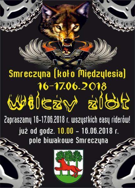 Plakat - II WILCZY ZLOT - Smreczyna 2018