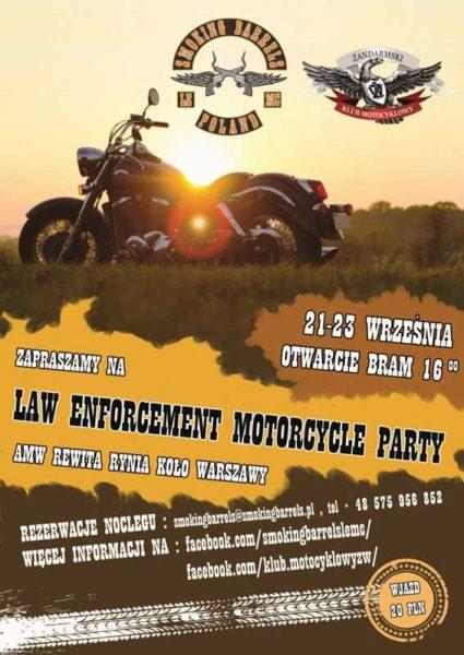LAW ENFORCEMENT MOTORCYCLE PARTY - Białobrzegi