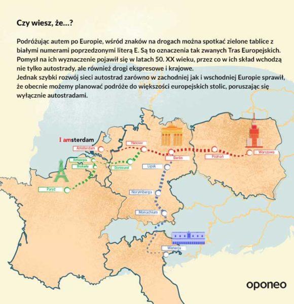 Długość autostrad w poszczególnych krajach UE oraz Strefie Schengen - ciekawostka 2