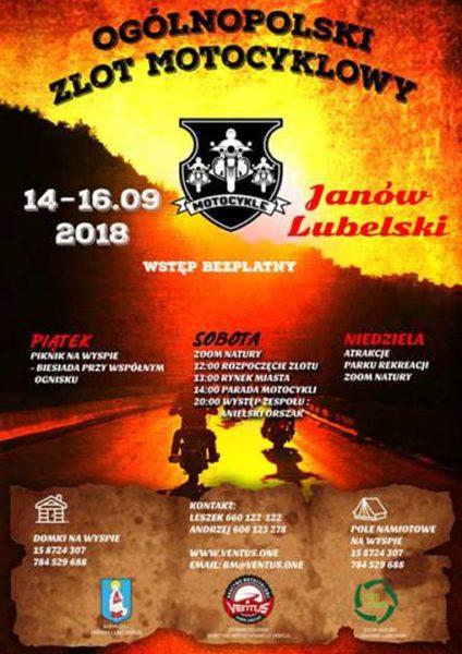 Ogólnopolski Zlot Motocyklowy - Janów Lubelski