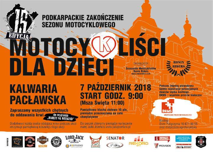 Podkarpackie Zakończenie Sezonu Motocyklowego - Kalwaria Pacławska