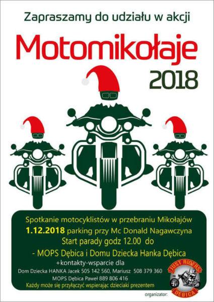 Motomikołaje Dębica 2018