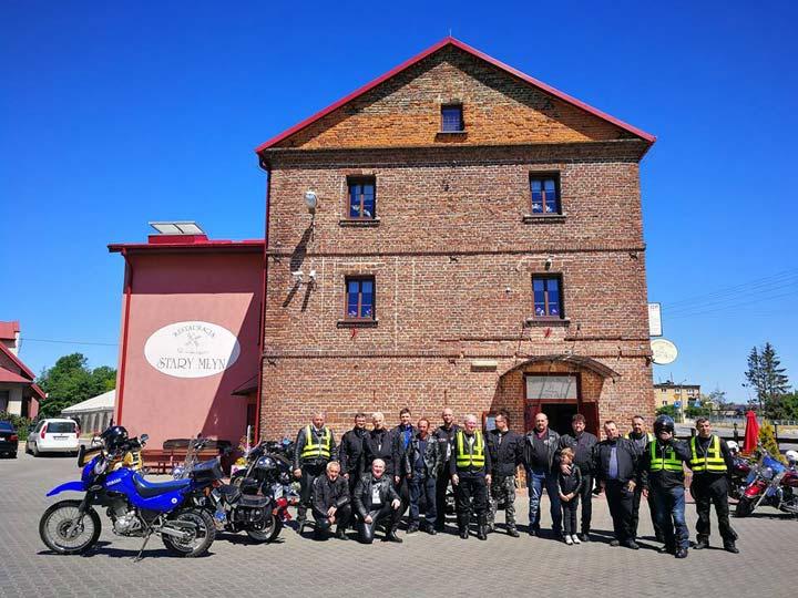 Spotkanie motocyklistów z okazji dni Bełżyc