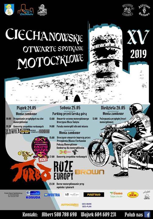 XV CIECHANOWSKIE OTWARTE SPOTKANIE MOTOCYKLOWE 2019