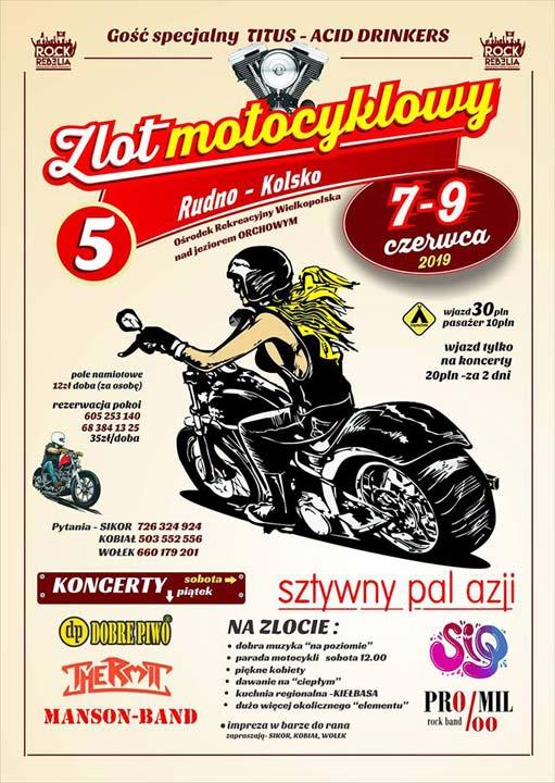 Zlot Motocyklowy Rudno-Kolsko 2019