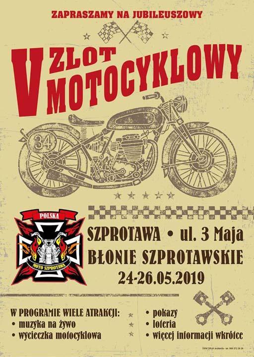 V Zlot Motocyklowy Szprotawa