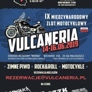IX Międzynarodowy Zlot Motocyklowy VULCANERIA 2019