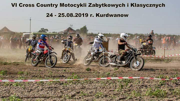 VI Cross Country Motocykli Zabytkowych i Klasycznych