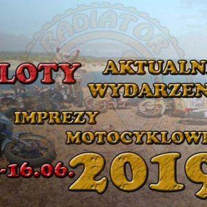 Zloty, imprezy motocyklowe - czerwiec 2019