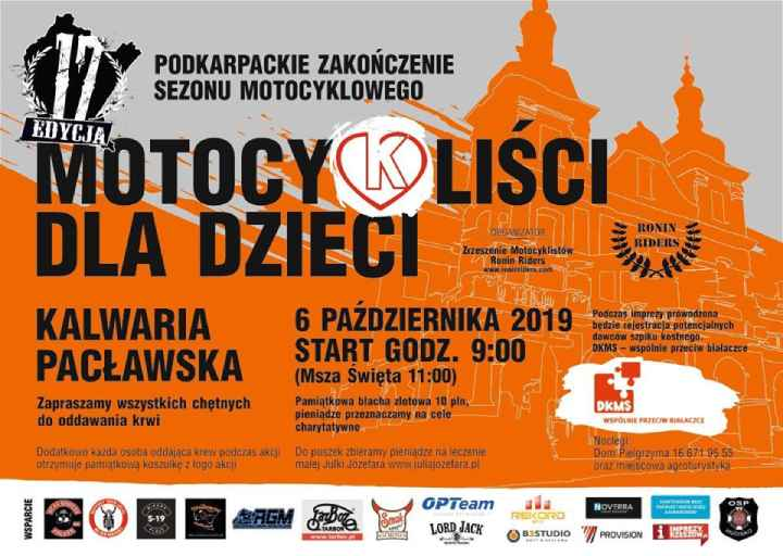 Podkarpackie Zakończenie Sezonu Motocyklowego Kalwaria Pacławska