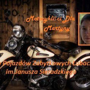 """Charytatywna wystawa pojazdów zabytkowych """"dla Martyny"""""""