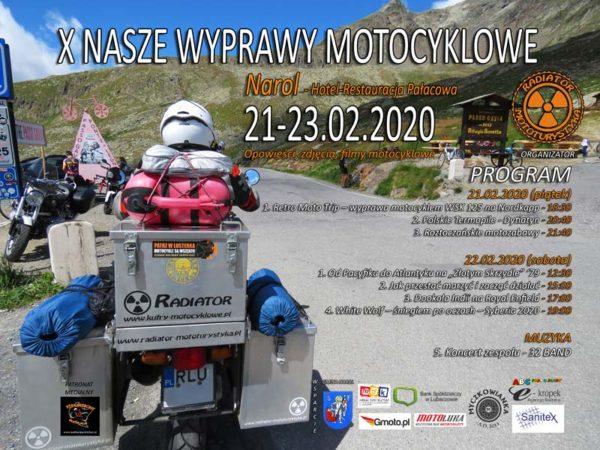 X Nasze Wyprawy Motocyklowe - Narol 2020