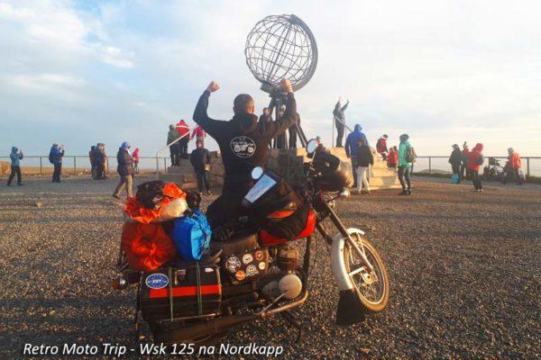 X Nasze Wyprawy Motocyklowe - Retro Moto Trip - wyprawa motocyklem WSK 125 na Nordkapp
