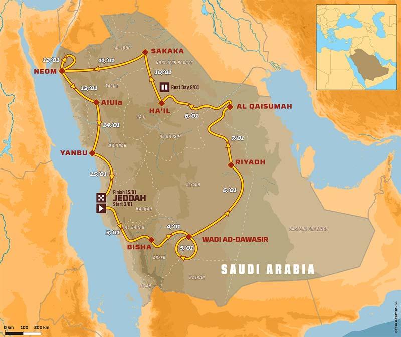 43.Rajd Dakar 2021