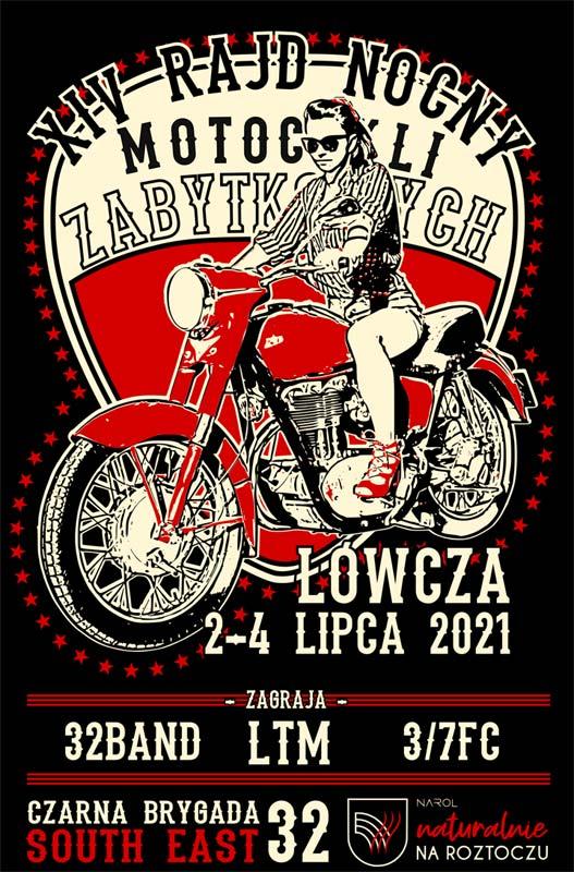 XIV Nocny Rajd Motocykli Zabytkowych – Łówcza 2021
